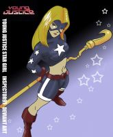 Young Justice Stargirl by Inspector97