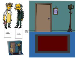 Recortable Simpson (1) by Mosquis