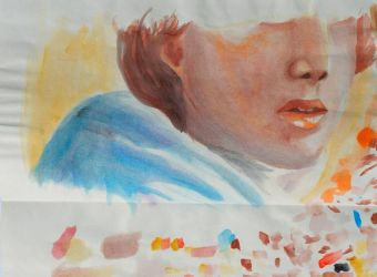 Watercolor study by Summia-art