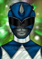 Mighty Morphing Blue Ranger by blueliberty