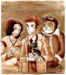 Doctor who : Gridlock by Eleithel