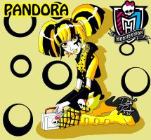 Monster High OC- Pandora Final by Chibi-Warmonger