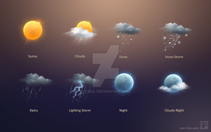 Weather Icon by cwxl