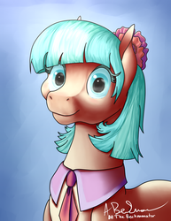 Coco Chanel Horse (re-upload) by TheBeckmanator