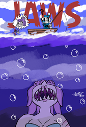 Jaws by AVM-Cartoons