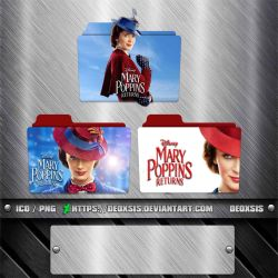 Mary Poppins Returns [2018] Folder Icon Pack by deoxsis