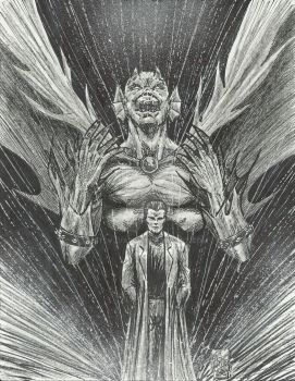 The Demon Etrigan And Jason Blood by StevJVaz72
