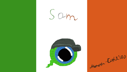 Sam A.K.A Septiceye by Moon-Light100
