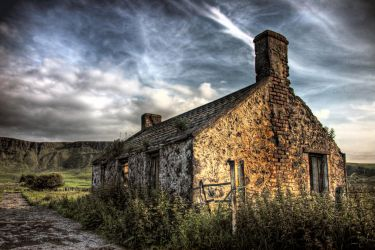Irish Cottage HDR. by jamesparr