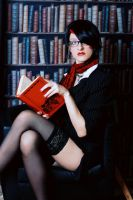 Headmistress Fiora Cosplay: Don't hesitate by Hanuro-Sakura