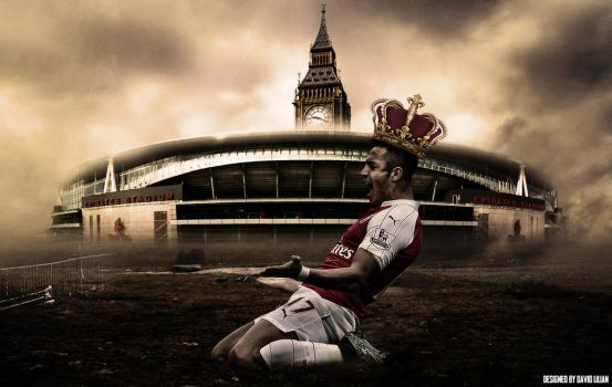 Alexis Sanchez - King of London by worldfootballartwork