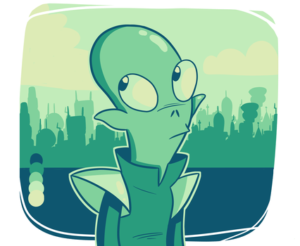 Kif ( color palette challenge) by ScribbleCate