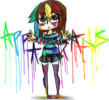 Color drips by Techycutie