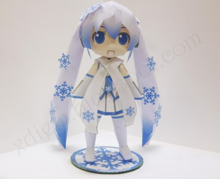 Snow Miku by Xdiem