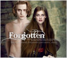 Forgotten - fanfic cover by Jasper-x-Bella