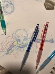 testing out new drawing pencils! by pixiepearl