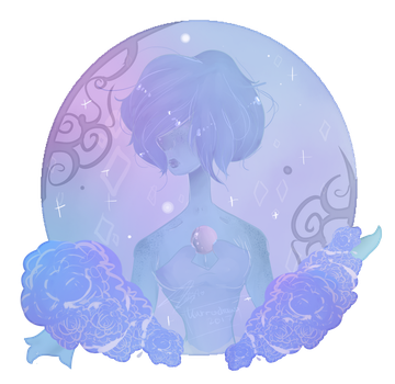 Blue Pearl - New Icon by KurroDraws