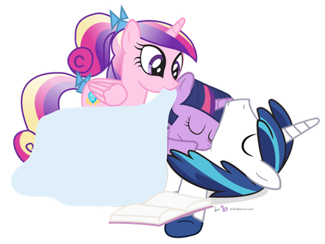 Good Night, Little Ponies by dm29