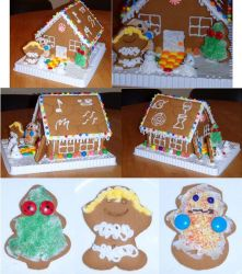 Naruto Gingerbread House by moiramctaggart