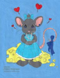 Little Miss Mouse by ilovepinkhair