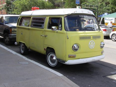 VW Bus Stock by chamberstock