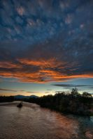 Sac River Sunset 2 by nathanspotts
