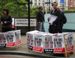 May 18th 2013 - Save the NHS: 4 by LouHartphotography