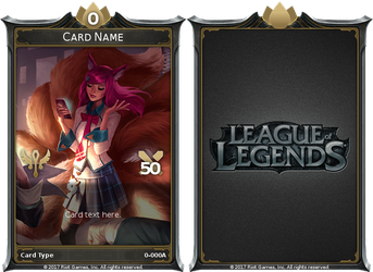 League of Legends TCG (Fan Made) by maha0