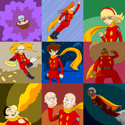 Cyborg 009 by Verdot