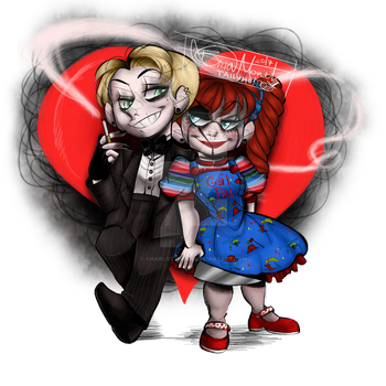Charlotte and Timothy (doll versions) by CharlotteRay