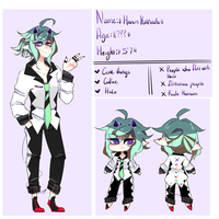 Haven Kanada - ref sheet by JellieSquid-Era