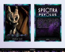 Spectra Psyclus - cards -12-Shadow Lord by R1Design