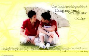 MINHAE-MInho-Donghae by yidmilan