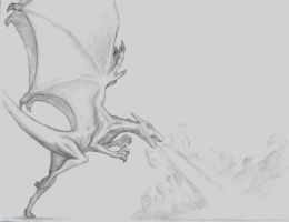 realistic charizard by alpha69a