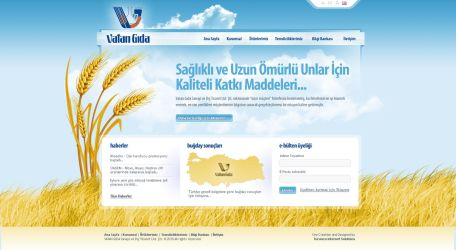 Vatan Gida Web Design by ThanRi
