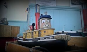 Ten Cents the Tug 2015 by Terrier55Stepney