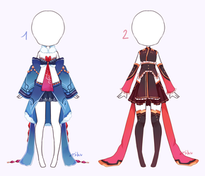 {Closed} SB 10$ - Auction Outfit 299 - 300 by xMikuChuu