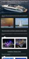 3 Ways to Have a Fun Packed Yacht Trip by saifalrehman