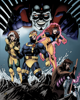 X-men And Mr. Sinister by airtightsoup