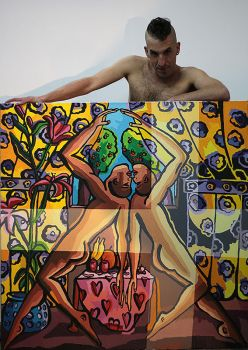 homosexual artists painters queer arist painter by shharc