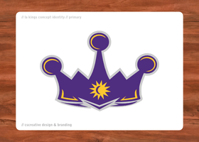 L.A. Kings Primary Concept by chickenfish13