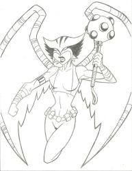 Hawkgirl by jaal