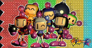 C4D|Super BomberMan R by YinyangGio1987