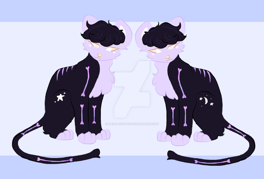 Custom: Pastel Goth by Melo-adopts