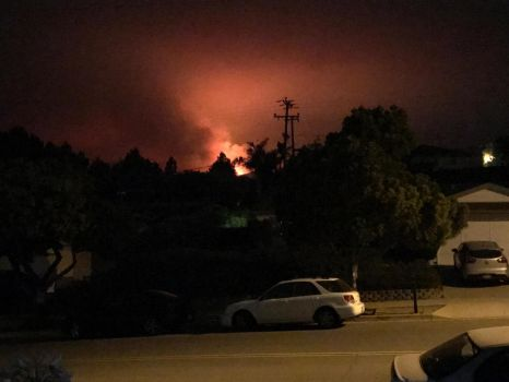 Whittier Fire 2017 by YumeSamasLover