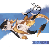 Gold Koi by NebNomMothership