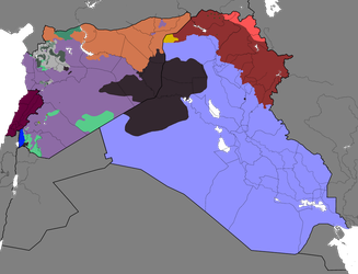 Syrian Civil War and spillovers: 15/10/2017 by Thumboy21