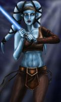 Aayla Secura by MomentsOfBloom