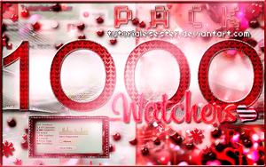 +1000Watchers Pack  by TutorialesEster