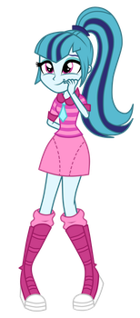 Sonata Dusk as Rainbooms by MixiePie